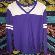 Victoria's Secret purple long sleeve Used was a Christmas gift, good as new no stains or holes. Make an offer Victoria's Secret Tops Tees - Long Sleeve