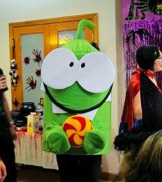 A great Halloween costume of Om Nom from Jennifer LaBianca via Facebook