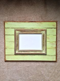 Distressed Solid Wood Picture Frame  12x16 by annelanedesigns, $55.00