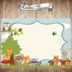 Baby First Birthday Party Ideas Boy Woodland Animals Ideas Baby First Birthday, First Birthday Parties, First Birthdays, Woodland Animals Theme, Woodland Baby, Christmas Baby Announcement, Forest Party, Woodland Christmas, Baby Shower Fun