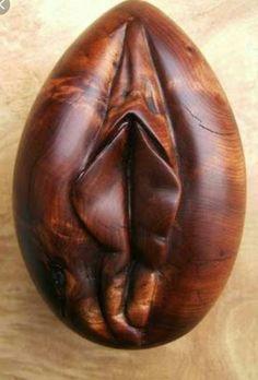 Let's Talk Vulva! Chip Carving, Wood Carving, Got Wood, Arte Popular, Wood Sculpture, Erotic Art, Wood Art, Wood Crafts, Wood Projects