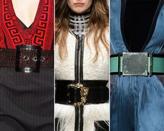 Fall/ Winter 2015-2016 Accessory Trends: Big Buckled Belts