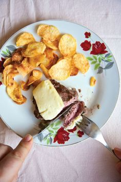 Steak with Melted Mozzarella
