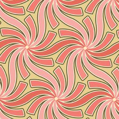 Thomas Knauer - Pear Tree - Pinwheels in Pink
