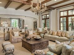 Country living room furniture ideas country cottage living room furniture i French Living Rooms, Beige Living Rooms, French Country Bedrooms, Chic Living Room, Country French, Modern Country, Country Farmhouse, Farmhouse Decor, Country Bathrooms