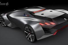Peugeot Vision GT Concept 2015 : 875 chevaux et 0 à 100 en 1, 73 s !