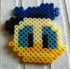 Donald Duck hama perler beads by arthystik