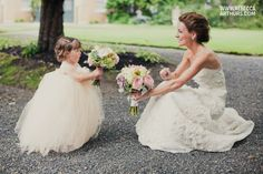 hahahahahahaha so much LOL   PHOT IDEA: goofing off with the flower girl (in a tutu of course)