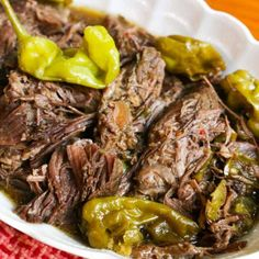 This spicy Crockpot Pepperonconi Pot Roast Recipe is wicked good. My whole family loved it so much, left me with no leftovers!
