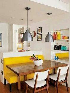 Modern mid century kitchen remodel ideas (68)
