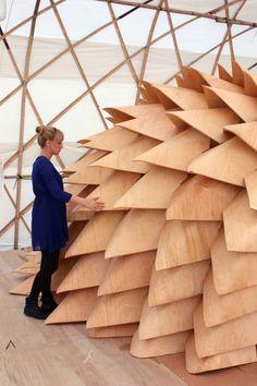 (Visit: www.facebook.com/DotThings) Dragon Skin Pavilion / Emmi Keskisarja, Pekka Tynkkynen & LEAD (17)