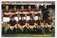 Milan-Cagliari 1-1 - 25a giornata stagione  72-73 - 15.04.1973