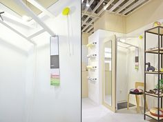 """This is the design for 'ANNIVERSARY MilK' Pop-up store, which is a temporary select shop at Omotesando Hills, by \""""Milk Japon\"""" magazine of kids fashion and lifestyle magazine."""