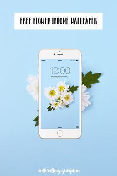 Free Flower iPhone Wallpaper | Enthralling Gumption