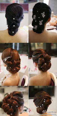 Hairstyle, Curls, Wavy Hair, Crimps....