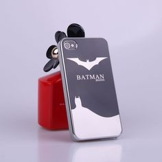 Bat Man Protective Back Case for iPhone4 4s - Apple Accessories - Funny Gadgets Free shipping at chemjoy.com