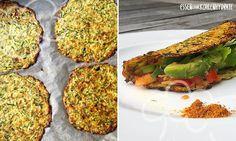 Low Carb Rezept für leckere gefüllte Zucchini-Tortillias. Wenig Kohlenhydrate und einfach zum Nachkochen. Super für Diät/zum Abnehmen.