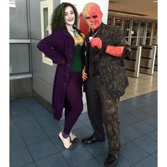 Pin for Later: 20+ Epic Cosplays From New York Comic Con The Joker and Two-Face