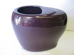 Royal Haeger oblong vase new from the factory. Very purple. I am hazeleyes767 #teamsellit