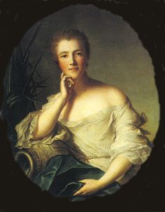 Madame de Boufflers, one of the society women and ladies-in-waiting who attended the Marquise's salons. Lady In Waiting, Classic Paintings, French Revolution, Madame, Prince, Portraits, Mistress, Paris, Mona Lisa