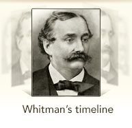 Whitman's timeline