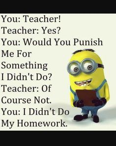 Funny Teacher student conversation