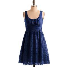 Blueberry Iced Tea Dress ($48) found on Polyvore