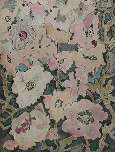 Michaela KRINNER 1915 - 2006 - Plante avec rose Fleurs