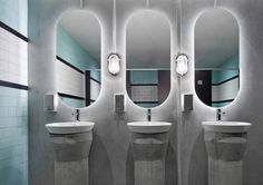8 Reasons Why You Should Have A Backlit Mirror In Your Bathroom // They're Easy To Install --- You can run a strip of LED lights behind the mirror yourself and connect to a power source, or you can buy a pre-lit mirror and have it installed.