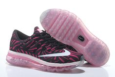 cheap for discount 58ddc 41993 2016 Women's Nike Flyknit Air Max Running Shoes black purple white - Click  Image to Close