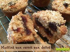 Hier sur ma page facebook, j'ai reçu une demande spéciale : des muffins à l'avoine et aux dattes. J'ai cherché, cherché et cherché une belle recette. Je n'ai rien trouvé d'inspirant. J'aurais pu tout simplement mettre des morceaux de dattes dans mes muffins à l'avoine, mais j'avais le goût de plus. Flash! Et si je …
