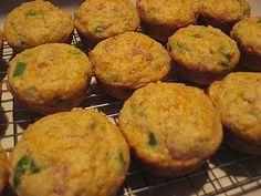 A Fast Food Breakfast to Go: Savory Breakfast Muffins