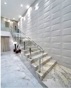 Staircase Interior Design, Staircase Railing Design, Modern Staircase, Interior Design Living Room, Home Building Design, Building A House, Modern House Design, Architecture, My Dream Home