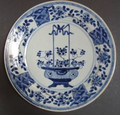 A Chinese porcelain plate Kangxi period  11''| eBay