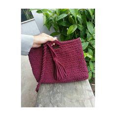 Sweet crochet hand bag