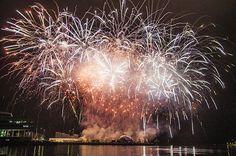 Fireworks  - Fyrværkeri. Aarhus 2017 European Capital of Culture