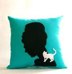 Have to have this on my Breakfast at Tiffanys bathtub couch!