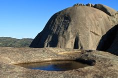 Paarl Rock is situated in South Africa and is the second largest granite outcropping in the world