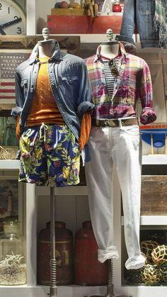 Prep Fashion, Mens Fashion, Prep Style, Visual Merchandising, Ralph Lauren, Beach, Clothing, Summer, How To Wear