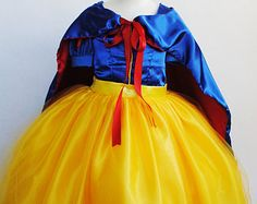 Snow White Tutu Snow White Costume Snow White by JuliettesTutuShop