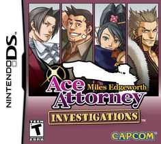 The second best Ace Attorney game :)