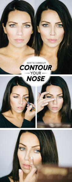 Tip Tuesday: nose contouring