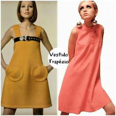 """Febre no final dos anos 50 e início dos anos 60, o vestido trapézio ficou muito famoso pelos estilistas Pierre Cardin e Paco Rabanne. Com uma modelagem ampla que imita o formato de um """"A"""", disfarça muito bem aquelas gordurinhas indesejadas e também valoriza o tipo físico mais magro. É uma aposta cheia de estilo e atitude."""