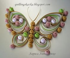 LOVE the look of quilling...don't think I have the patience.