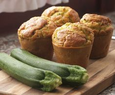 Muffin alle zucchine per una gita fuori porta