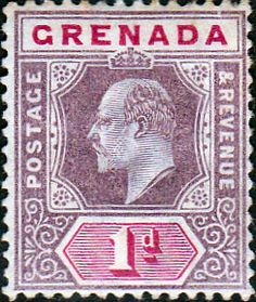 Grenada 1902 King Edward VII Head SG 68 Fine Mint SG 68 Scott 59 Other Commonwealth Stamps Here