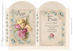 Vintage printable Gift Bag by Inger Harding