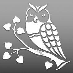 Owl – Cut Outs – Art & Islamic Graphics