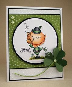 Leprechaun Luck by TracyMac - Cards and Paper Crafts at Splitcoaststampers