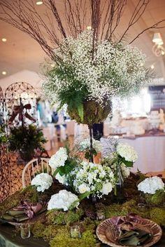 56 Woodland Wedding Table Settings   HappyWedd.com
